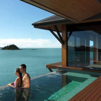 Qualia Whitsundays luxury honeymoon resort accommodation