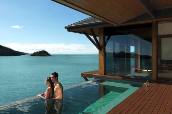 Qualia Whitsundays luxury honeymoon resort accommodation